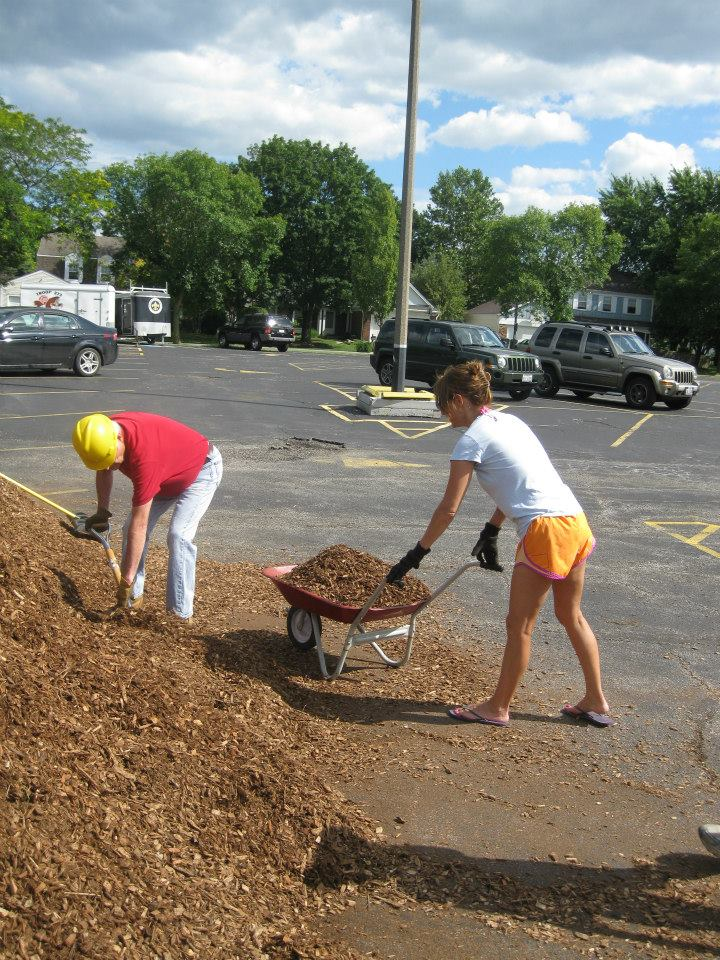 Don't forget about the mulch!